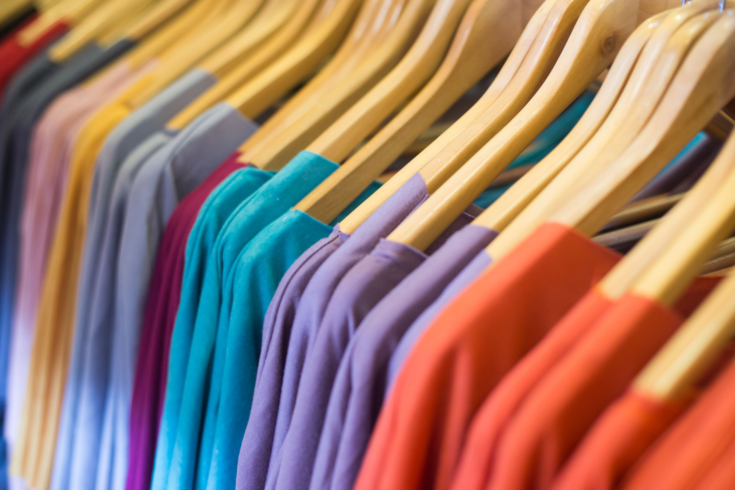 30967956 - picture of the clothes in the retail store