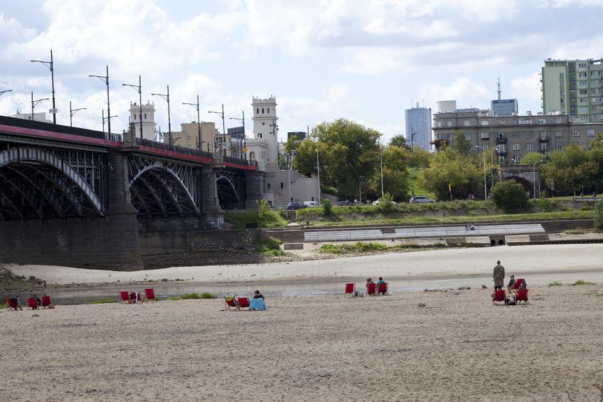 Plaże nad Wisłą w Warszawie