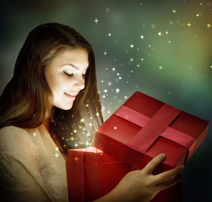 Kosmetyki-pomysł na prezent?