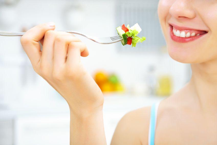 Warzywa i owoce na szczęście