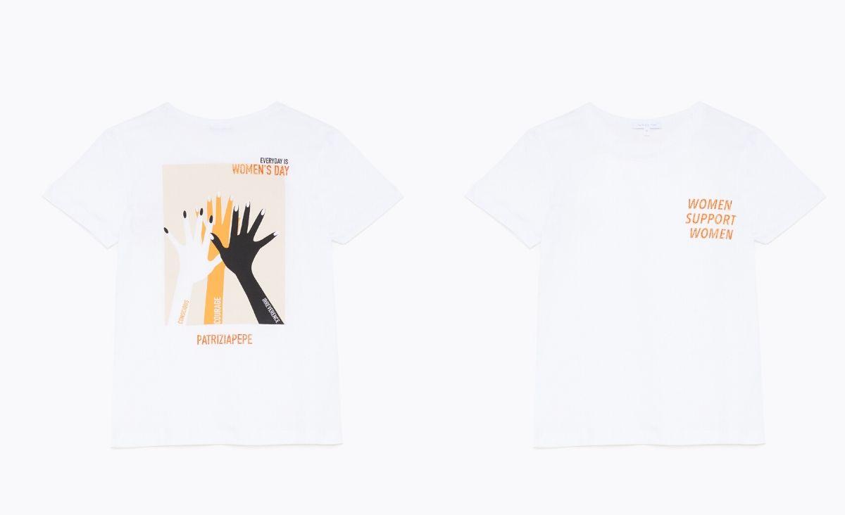 Patrizia Pepe celebruje sojusz kobiet kolekcją t-shirtów