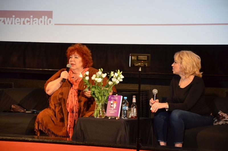 Spotkanie z Katarzyną Miller i Suzan Giżycką – relacja video