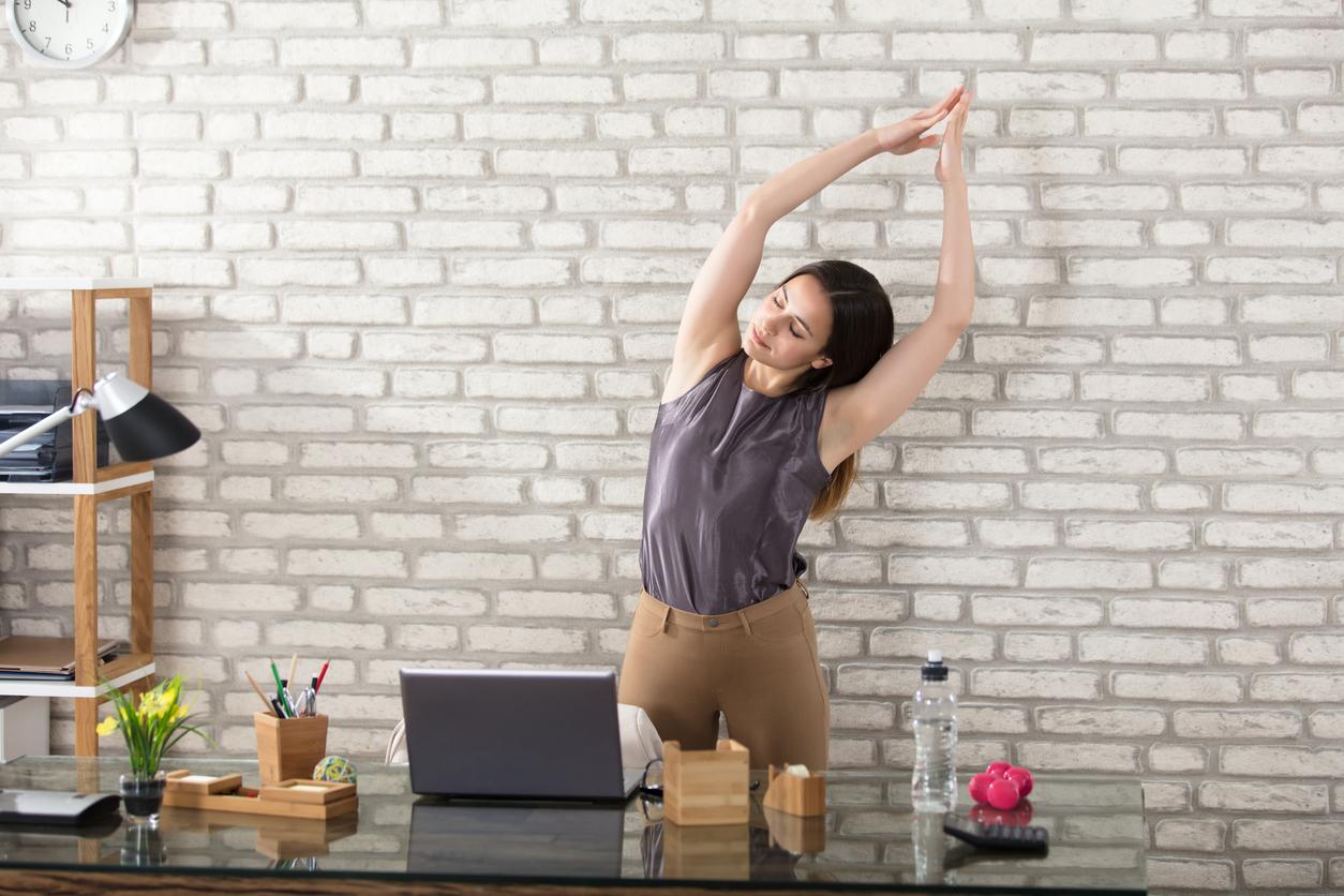Jak być aktywnym w pracy?