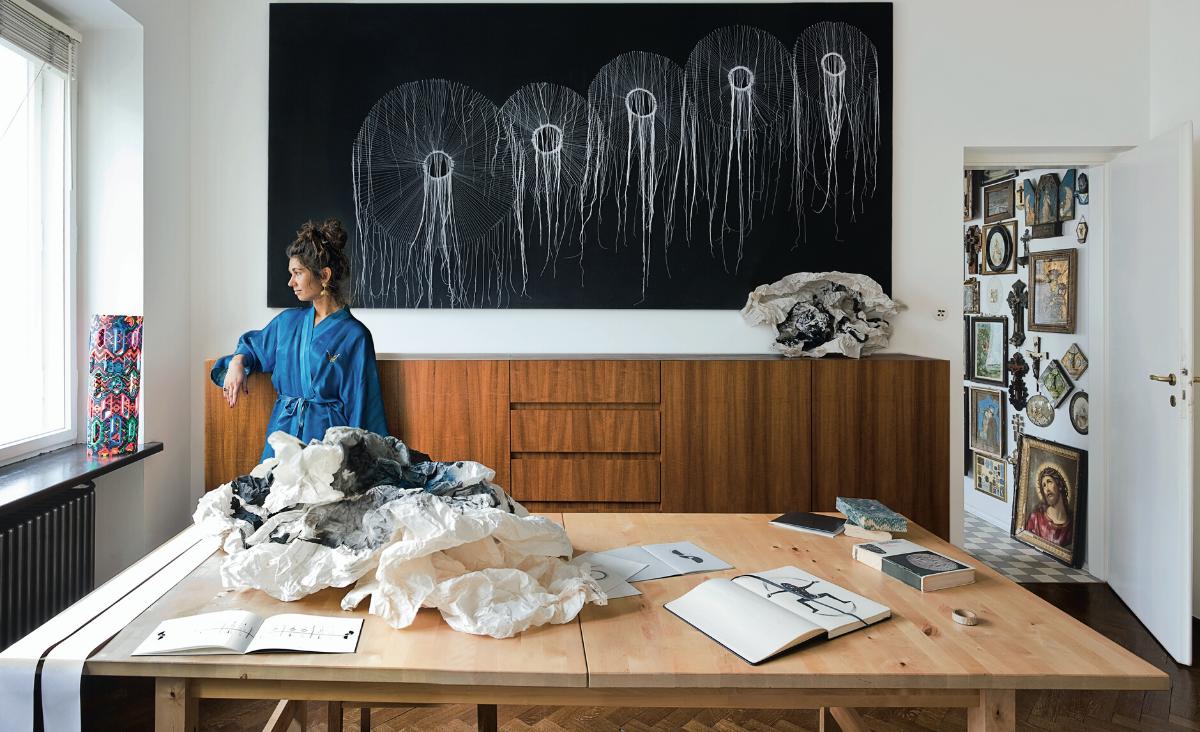 Dobrawa Borkała - artystka nomadyczna