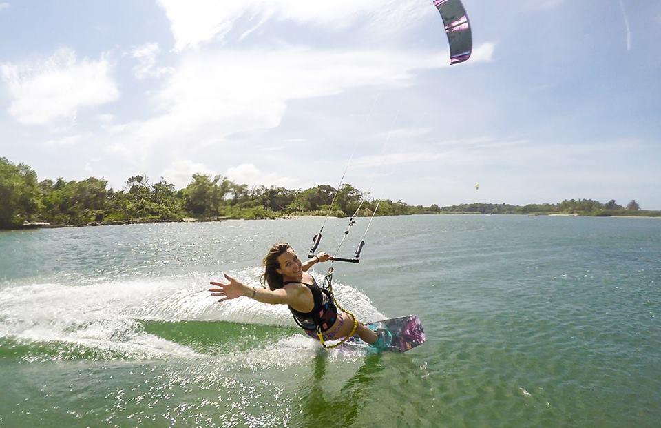 Sportowe podróże kitesurferki Karoliny Winkowskiej