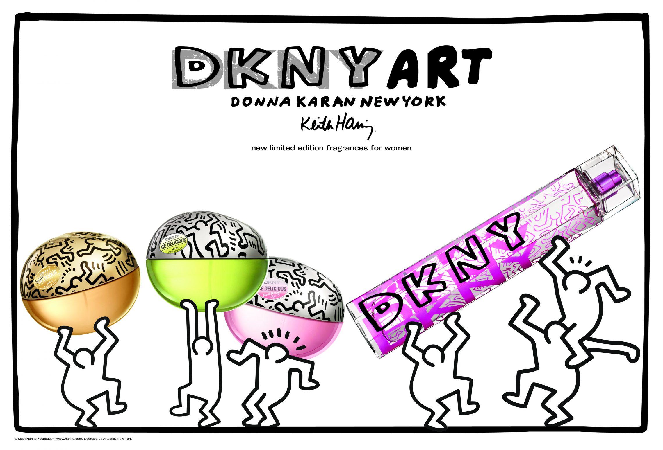 DKNY Art prezentuje ekskluzywny zapach Keith Haring