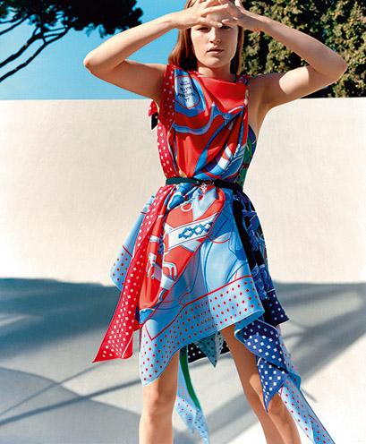 Nowa kolekcja apaszek Hermèsa