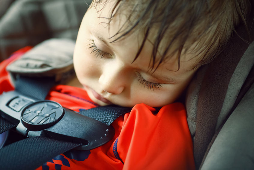 Nie zostawiaj dziecka w samochodzie!