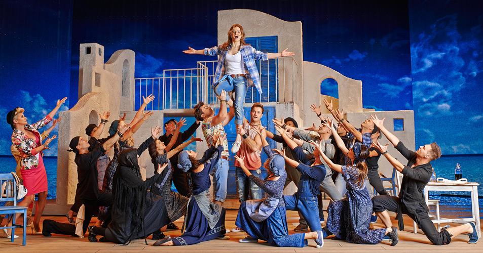 Ostatnie spektakle Mamma Mia w Teatrze Roma!