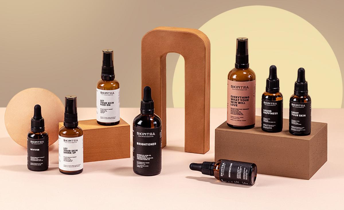 Efekt zabiegów kosmetologicznych w domowym zaciszu. SkinTra - marka własna Cosibell