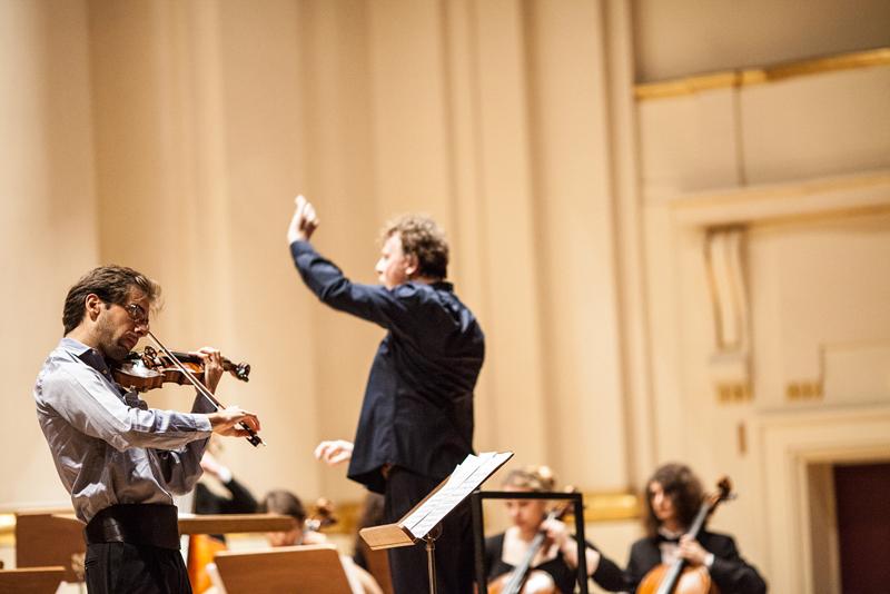 Młoda Polska Filharmonia zagrała w Krakowie w Filharmonii im. Karola Szymanowskiego