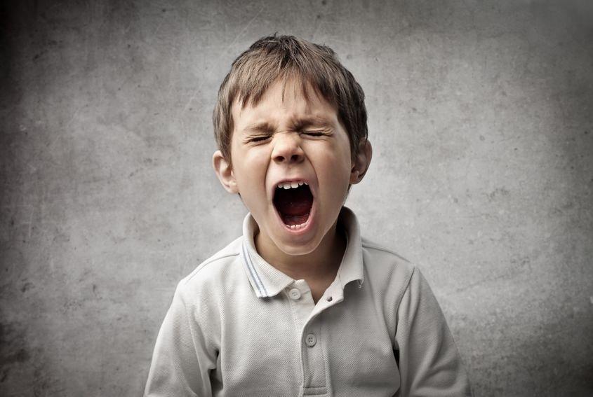 Co robić gdy dziecko wpadnie w złość