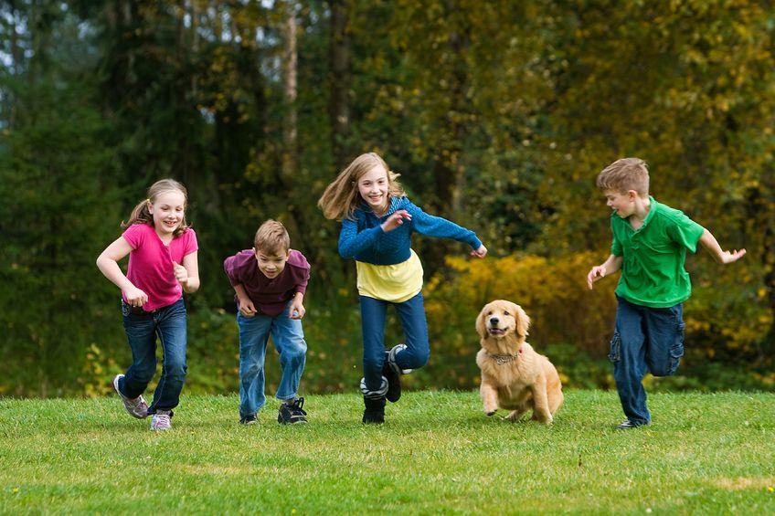 Twoje dziecko potrzebuje 60 minut ruchu każdego dnia!