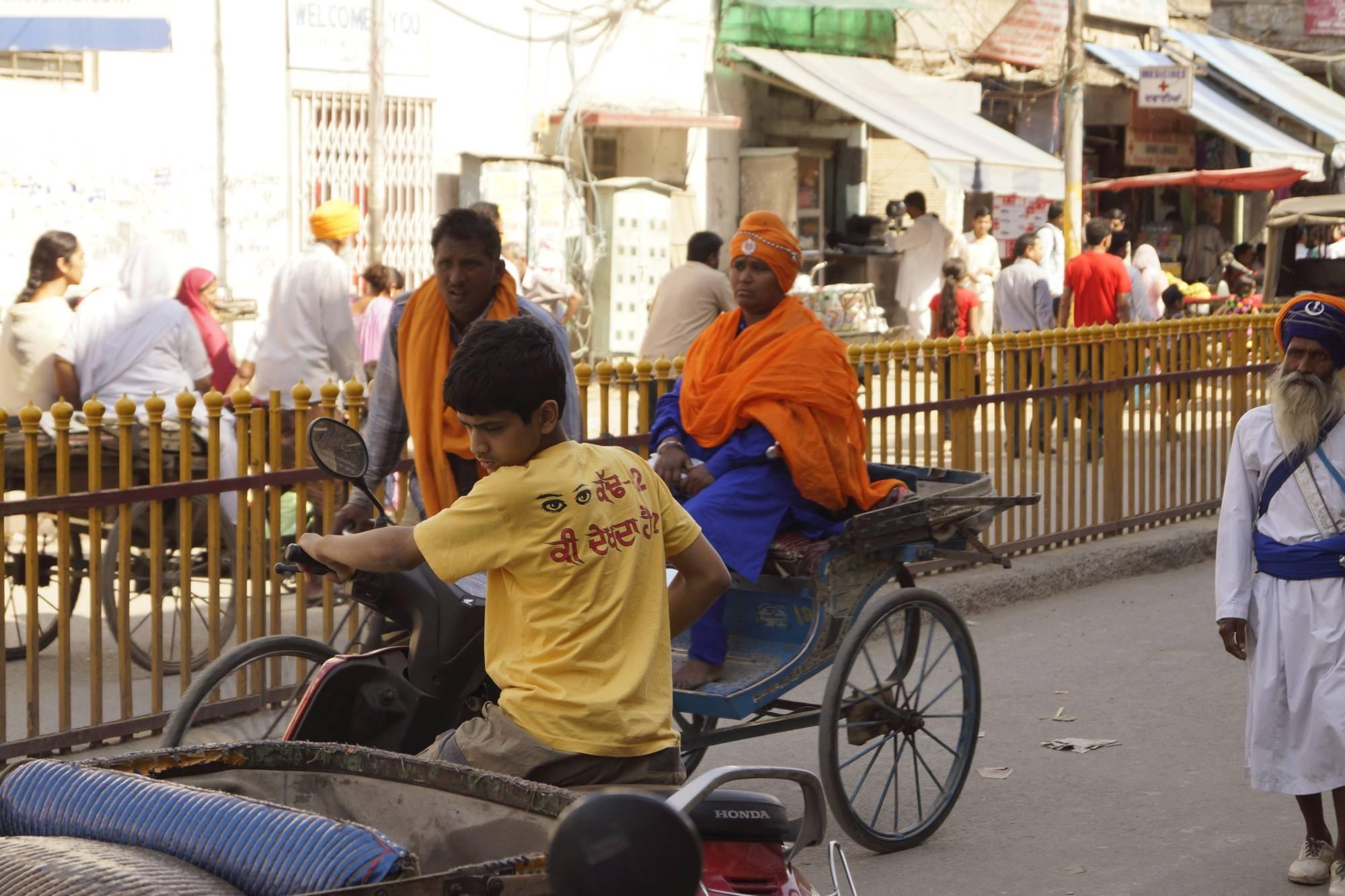 Ortodoksyjna wyznawczyni sikhizmu