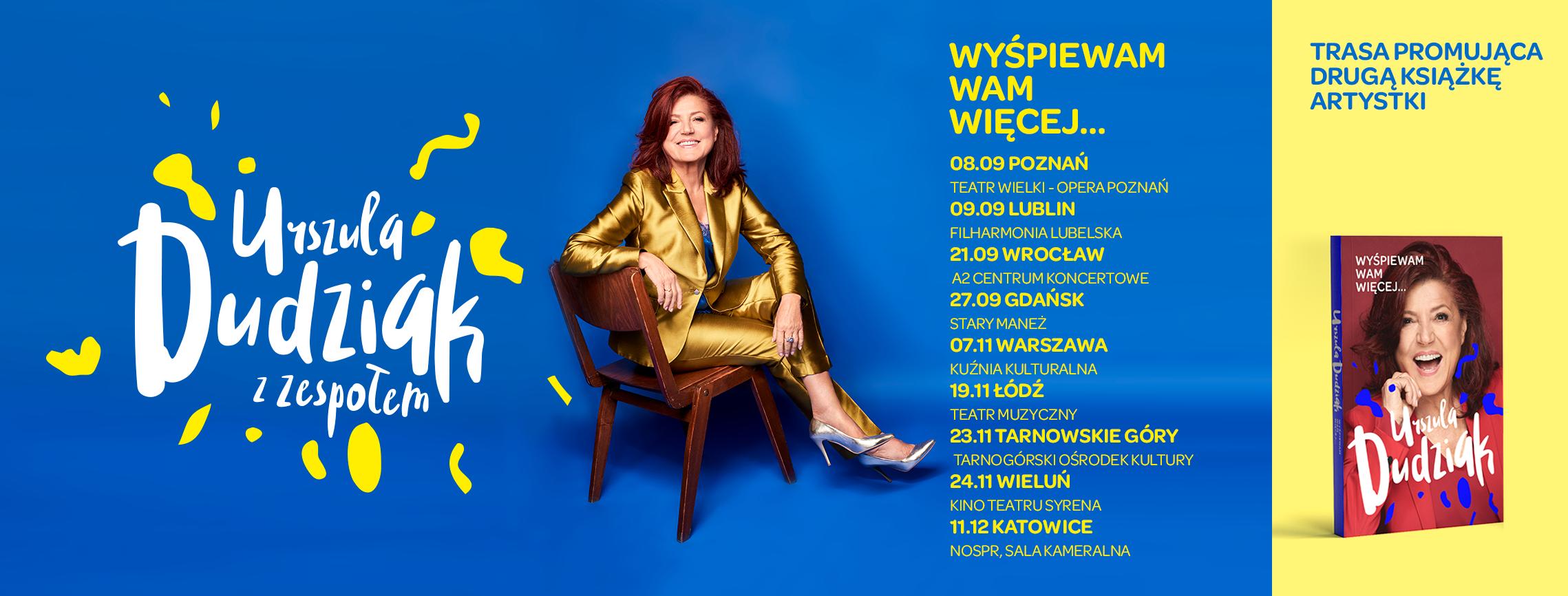 Urszula Dudziak rusza w Polskę. Będzie nie tylko śpiewać, ale i dużo opowiadać!