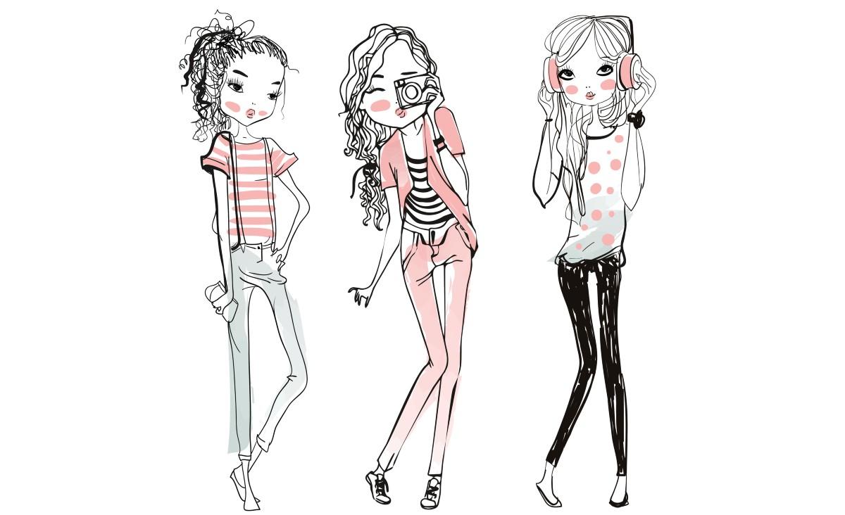 Media społecznościowe wytwarzają coraz większą presję na bycie piękną, a nastolatki coraz gorzej sobie z tym radzą. (Ilustracja: iStock)