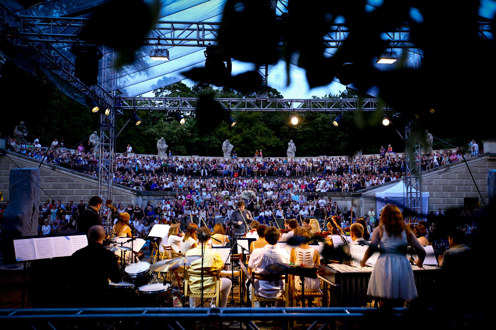Młoda Polska Filharmonia w Łazienkach