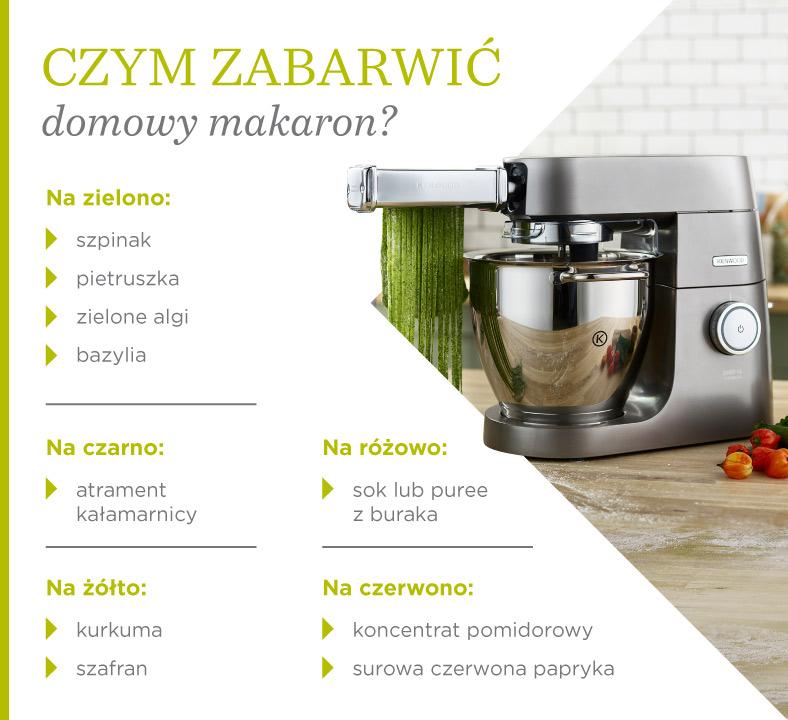 Czym można zabarwić domowy makaron?