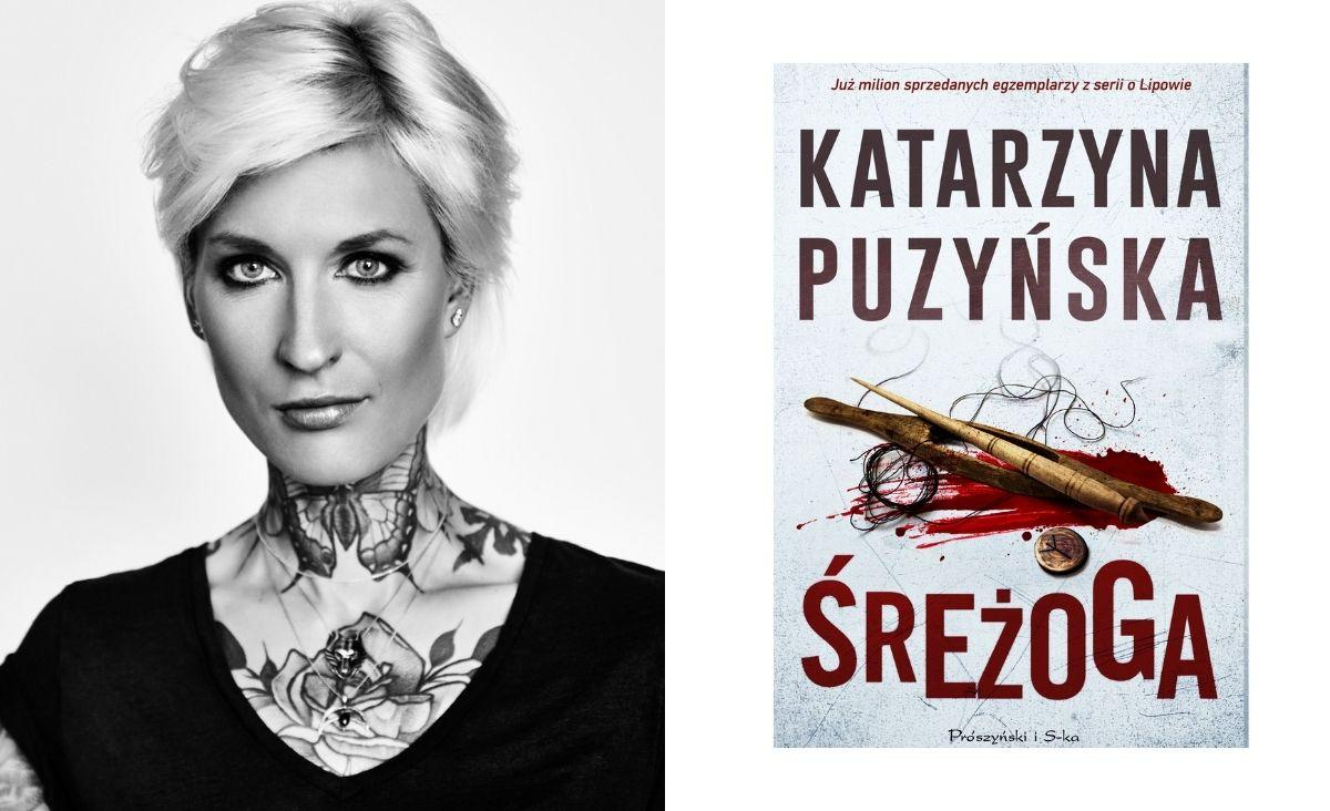 """Katarzyna Puzyńska """"Śreżoga"""" - najnowsza część sagi o Lipowie"""