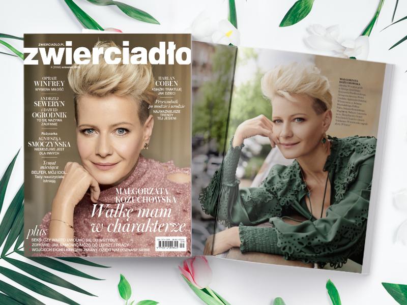 Wrześniowe wydanie miesięcznika Zwierciadło już w sprzedaży!