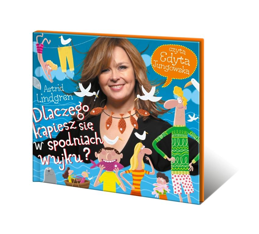 Audiobooki dla dzieci. Edyta Jungowska czyta Astrid Lindgren