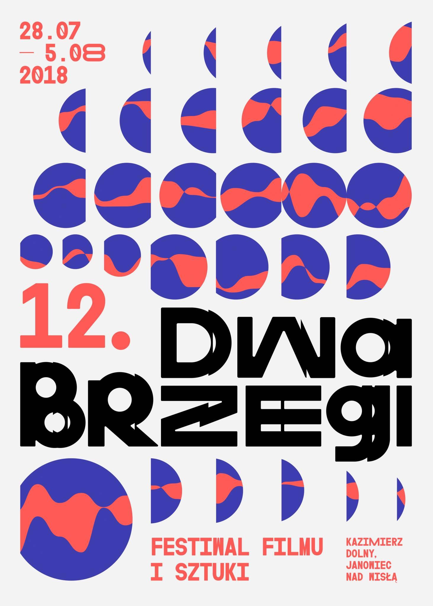 Zapraszamy na Festiwal Filmu & Sztuki Dwa Brzegi 2018!