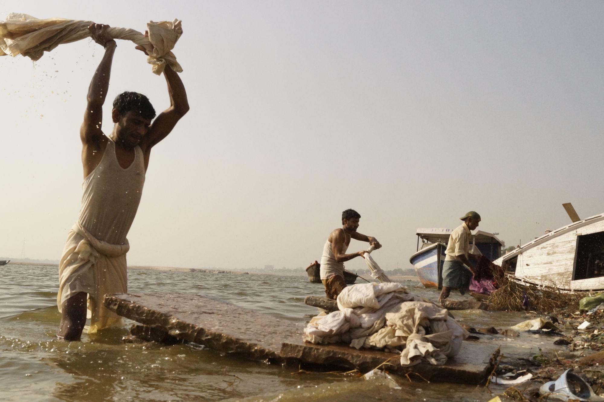 Pranie nad Gangesem