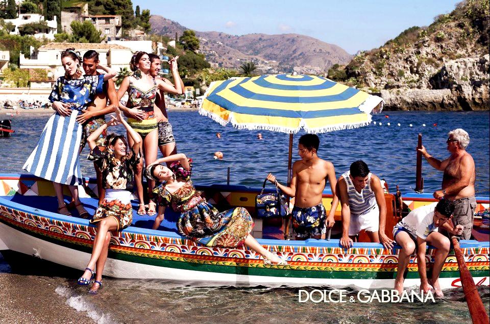 Dolce i Gabbana, kampania wiosna-lato 2013