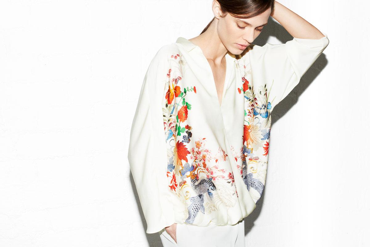 Letni lookbook Zara
