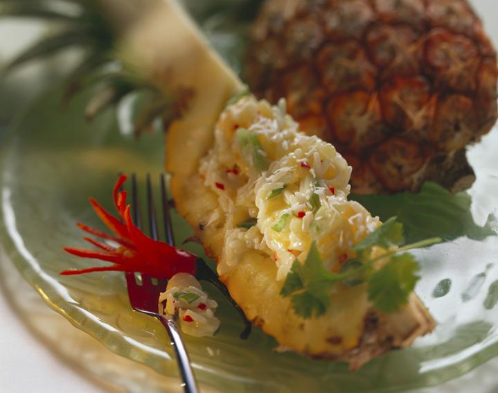 Syjamski ryż w ananasie