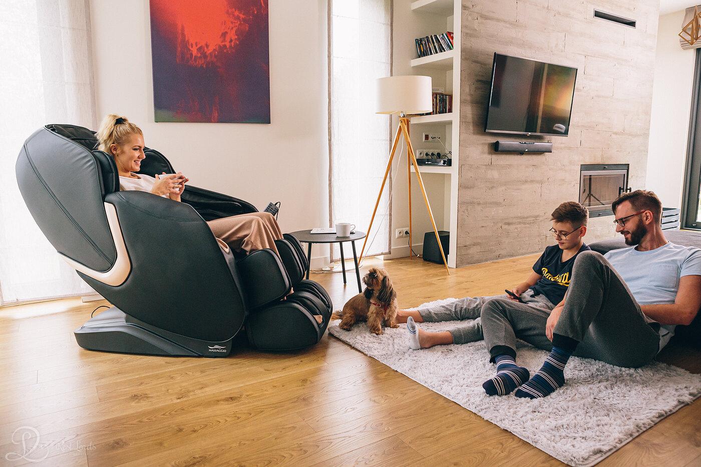 fotel masujący - wyjątkowy relaks w domu