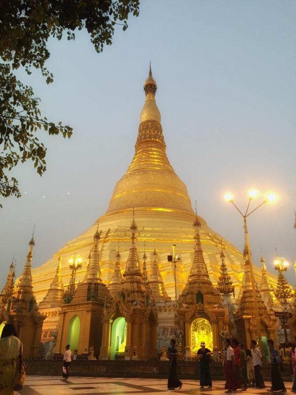 1. Shwedagon Paya, Mekka Birmańczyków