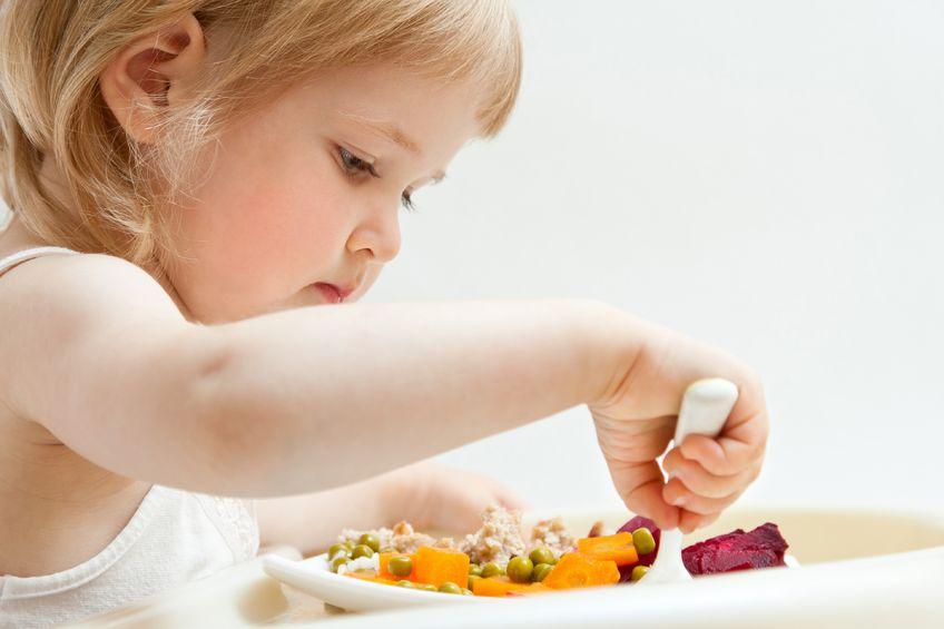 Kasza na śniadanie dla małego dziecka