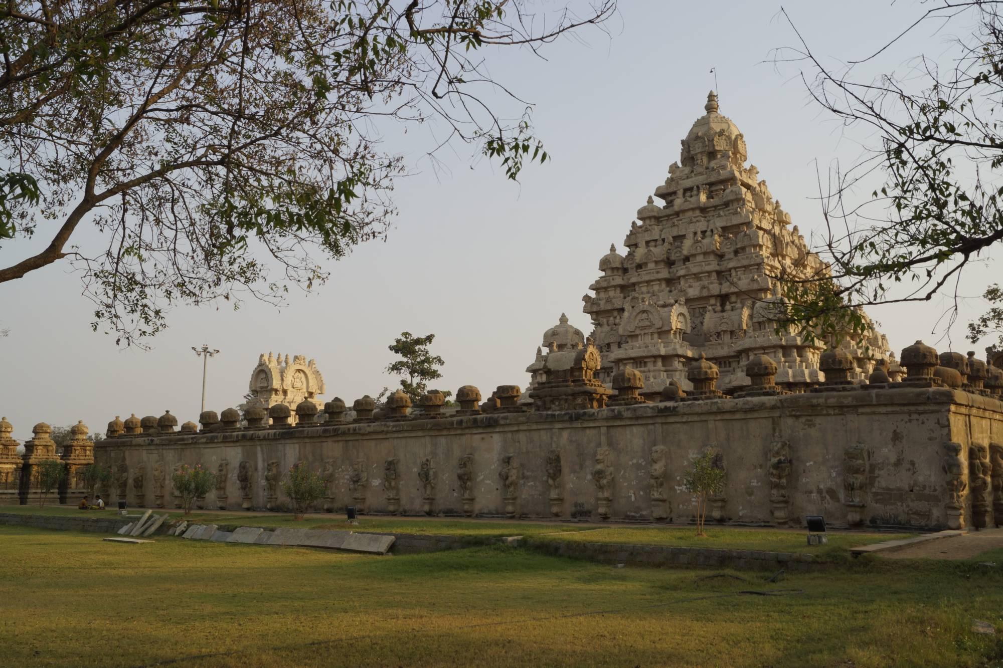 Świątynia Kajlasanathy w Kańćipuram raz jeszcze