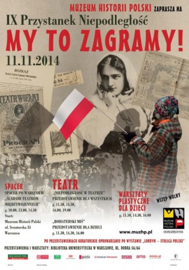 Muzeum Historii Polski na Święto Niepodległości
