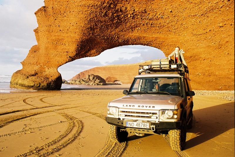 Plaża Legzira, cud natury marokańskiego południa