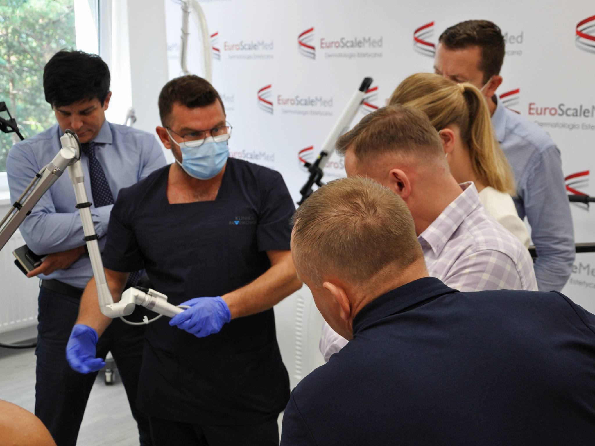 Firma Euroscalemed - polski dystrybutor światowego sprzętu medycznego w zupełnie nowej odsłonie