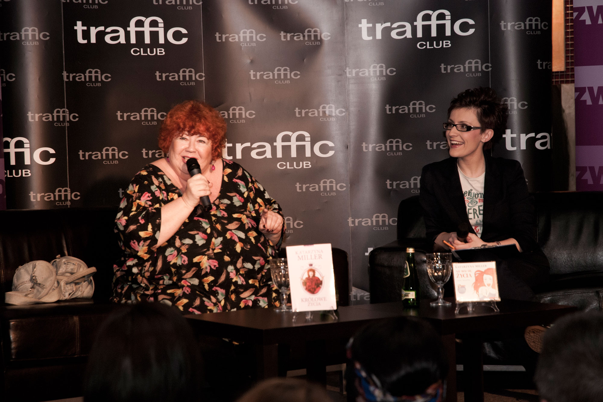 Fotorelacja ze spotkania z Katarzyną Miller