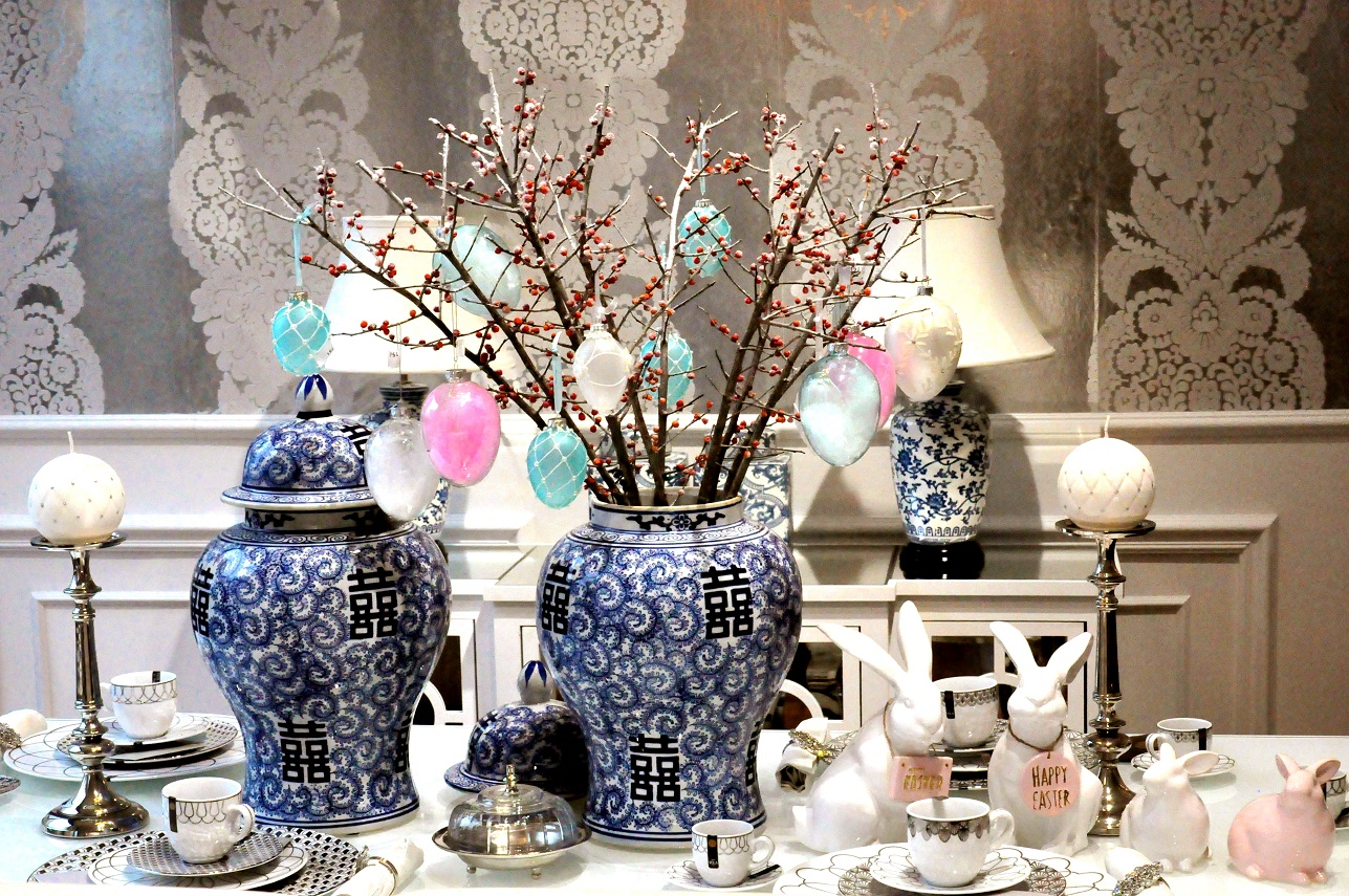 3 dekoracje wielkanocnego stołu