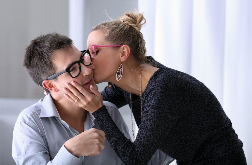 Pocałunki w pracy