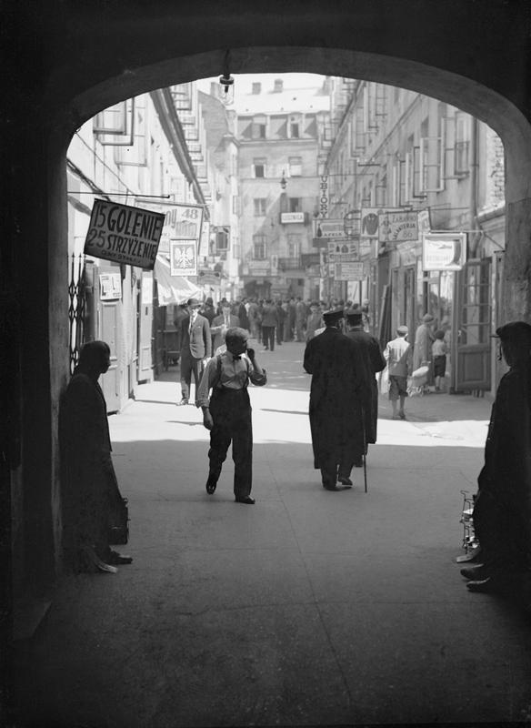 Nieznane zdjęcia przedwojennej Warszawy w DSH