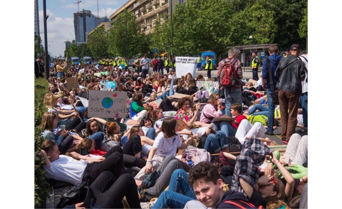 Młodzieżowy Strajk Klimatyczny odbędzie się w ramach Tygodnia dla Klimatu (Fot. materiały prasowe)