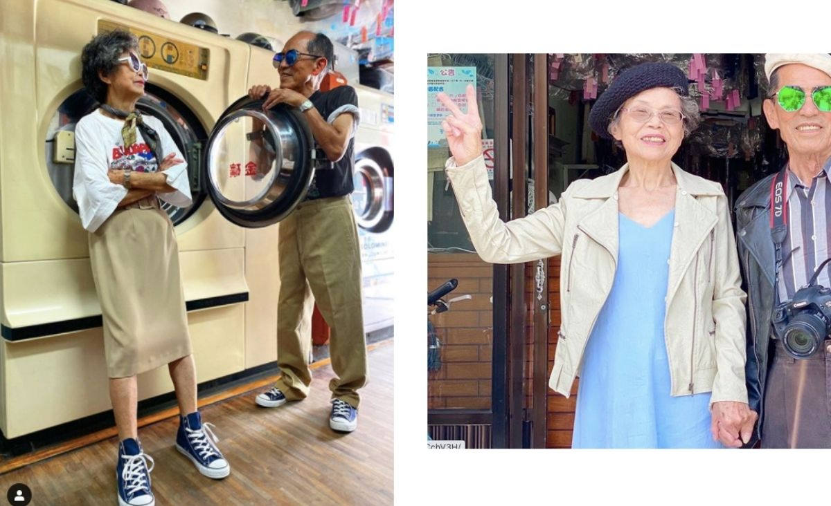 Małżeństwo seniorów z Tajwanuzachwyca świat swoją kreatywnością i luzem