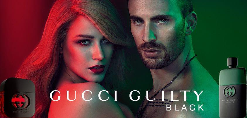 Mroczna kampania Gucci Guilty Black
