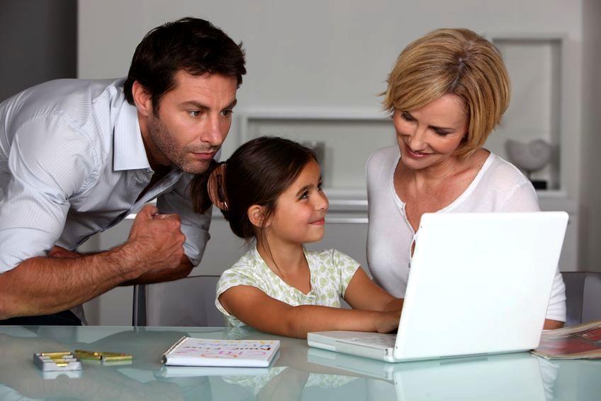Przedszkolak i komputer