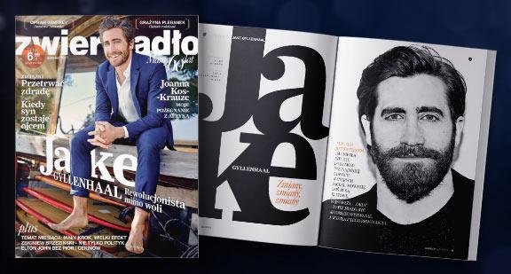 Na okładce: Jake Gyllenhaal