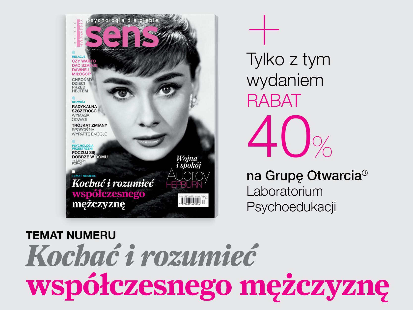 Marcowe wydanie miesięcznika SENS już w sprzedaży
