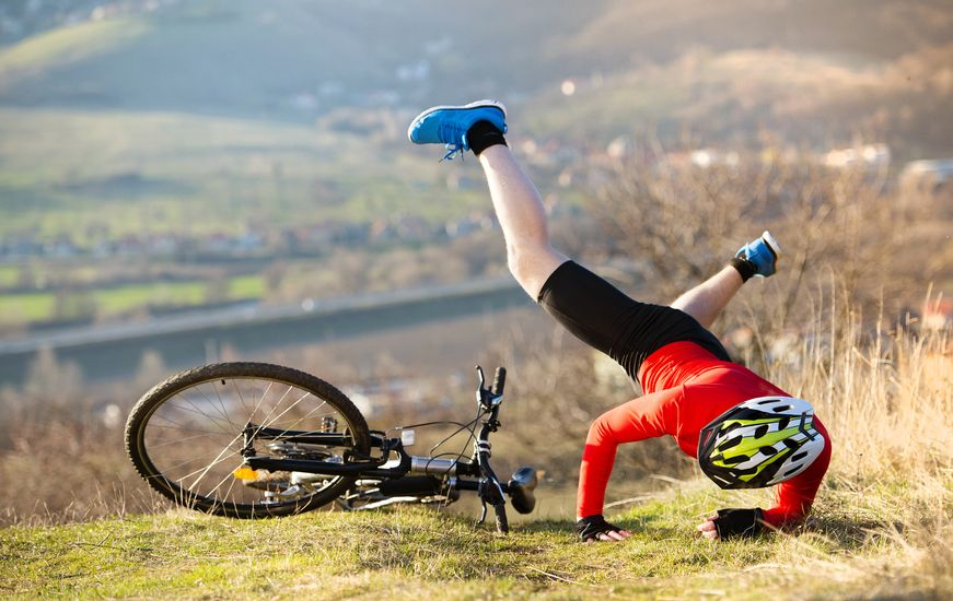 Wypadki na rowerze – jak postępować?