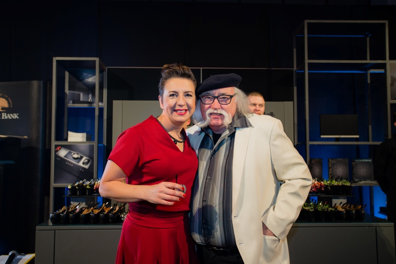 Justyna Adamczyk i Kurt Scheller