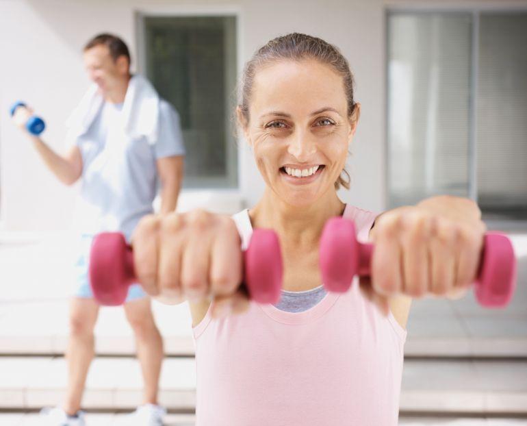 Ćwiczenia dla czterdziestolatki